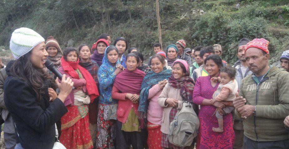 Green Shiva Nepal Travel Blog – 1.2016 – Decken fuer Dolakha