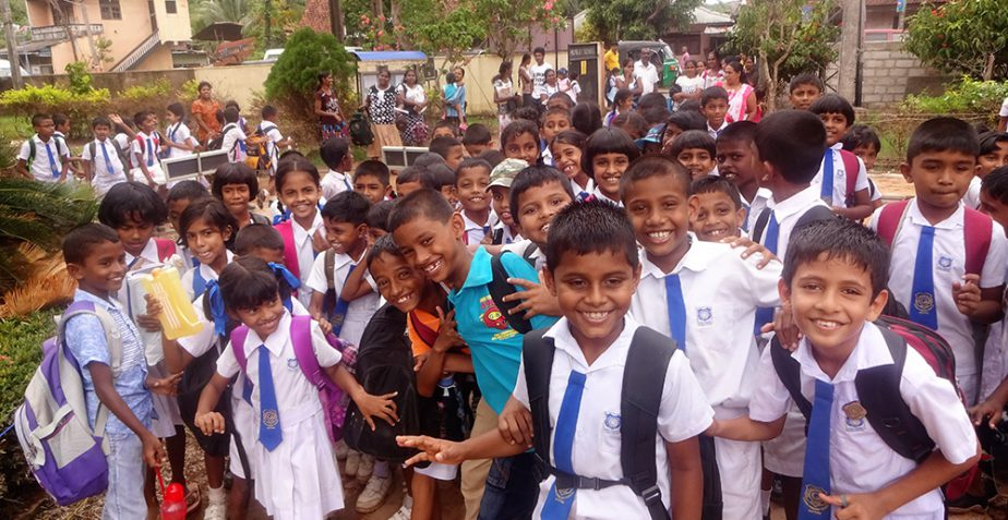 School support for the kids of Matara
